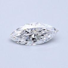 推荐宝石 1:0.33 克拉榄尖形钻石