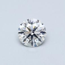 0.43 Carat 圓形 Diamond 理想 F VS2