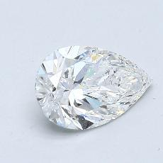 Recommended Stone #2: 0.80-Carat Pear Cut Diamond