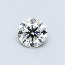 Piedra recomendada 3: Diamante redondo de0.43 quilates