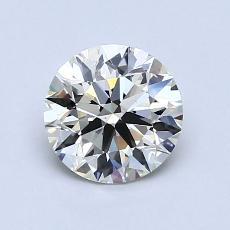 1.06 Carat ラウンド Diamond アイデアル K VS1