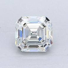 Recommended Stone #2: 1.05-Carat Asscher Cut Diamond
