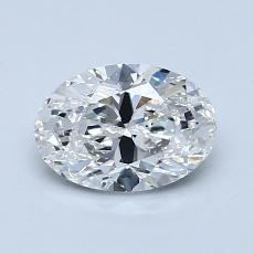 Recommended Stone #1: 0,96-Carat Oval Cut Diamond