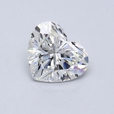 Recommended Stone #2: 0,72-Carat Heart Cut Diamond