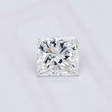 Recommended Stone #4: 0.36-Carat Princess Cut Diamond