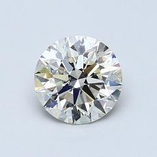 オススメの石No.1:0.91カラットのラウンドカットダイヤモンド