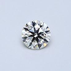 Piedra recomendada 3: Diamante redondo de0.30 quilates