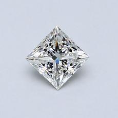 推薦鑽石 #2: 0.40  克拉公主方形鑽石