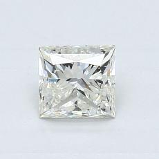 0.70-Carat Princess Diamond Good K VS2
