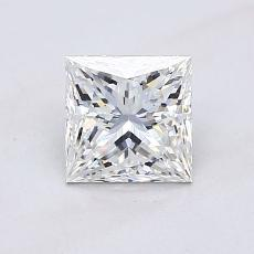 Recommended Stone #1: 1.01-Carat Princess Cut Diamond