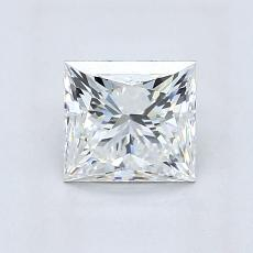 1,07-Carat Princess Diamond ASTOR H VVS1
