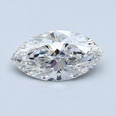 0,70-Carat Marquise Diamond Very Good G VVS2
