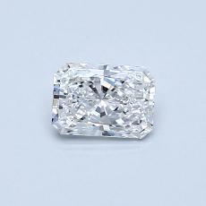 目标宝石:0.40 克拉雷地恩明亮式钻石