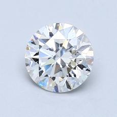 1.01-Carat Round Diamond Ideal F SI1