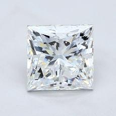 Recommended Stone #2: 2,05-Carat Princess Cut Diamond