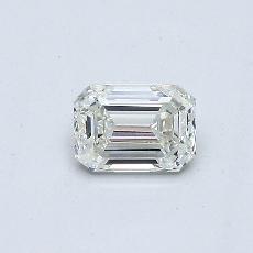 推荐宝石 2:0.40 克拉祖母绿切割钻石