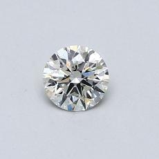 Piedra recomendada 2: Diamante redondo de0,30 quilates