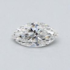 0.38 Carat 榄尖形 Diamond 非常好 F SI1