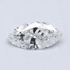 推荐宝石 3:0.43 克拉榄尖形钻石