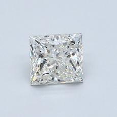 Recommended Stone #1: 0.80-Carat Princess Cut Diamond