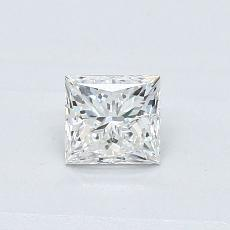 0.41 Carat 公主方形 Diamond 非常好 G SI2