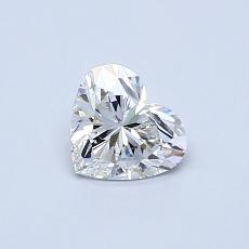 Recommended Stone #2: 0.51-Carat Heart Cut Diamond