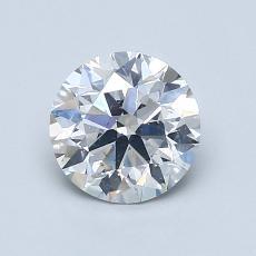 1.05 Carat 圓形 Diamond 理想 G SI1