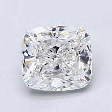 1.51 Carat クッション Diamond ベリーグッド D VS1