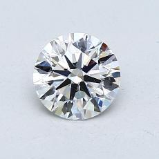 0.79 Carat 圓形 Diamond 理想 E VS1