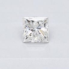 推荐宝石 4:0.31 克拉公主方形钻石