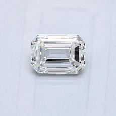Recommended Stone #1: 0.48-Carat Emerald Cut Diamond