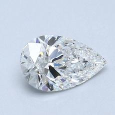 Recommended Stone #1: 0.73-Carat Pear Cut Diamond