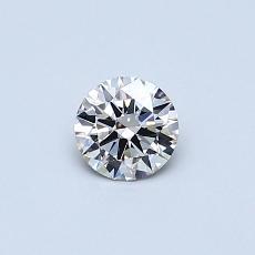 Piedra objetivo: Diamante redondo de0,30 quilates
