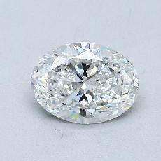0.71-Carat Oval Diamond Very Good E SI1