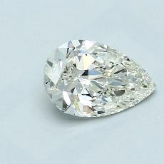 推薦鑽石 #2: 1.02 克拉梨形鑽石