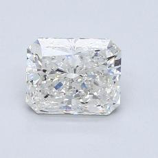 Pierre recommandée n°4: Diamant Taille radiant de 1,03carat