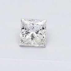 0.31-Carat Princess Diamond Very Good G VS2