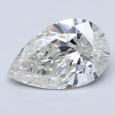 Recommended Stone #1: 2.55-Carat Pear Cut Diamond