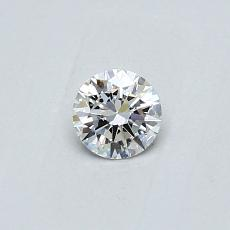 Recommended Stone #2: 0,23-Carat Round Cut Diamond