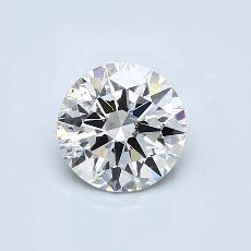 1.00 Carat 圓形 Diamond 理想 I SI1