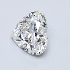 1.01-Carat Heart Diamond Very Good F VS2