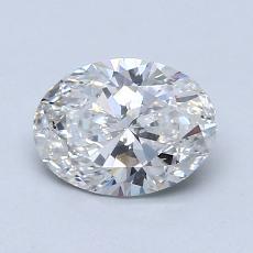 0.90-Carat Oval Diamond Very Good G SI2