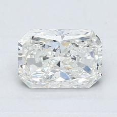 1,02-Carat Radiant Diamond Very Good H SI1