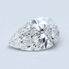 Recommended Stone #3: 0,73-Carat Pear Cut Diamond
