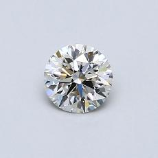 Recommended Stone #1: 0.34-Carat Round Cut Diamond