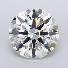 Target Stone: 2.12-Carat Round Cut Diamond