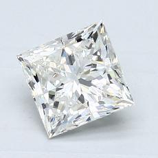 1,21-Carat Princess Diamond Very Good I VS1