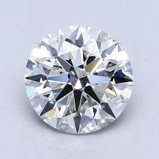 1.56 Carat Redondo Diamond Ideal G VS1
