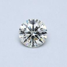 Pierre cible: Diamant rond 0,30 carat