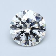 1,25-Carat Round Diamond Ideal H VS1